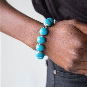Eye candy blue bracelet